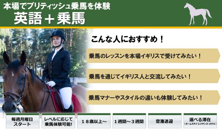 英語と乗馬