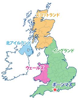 ボーンマスの地図
