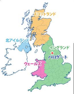 カンタベリーの地図
