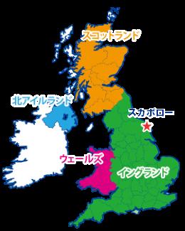 スカボローの地図
