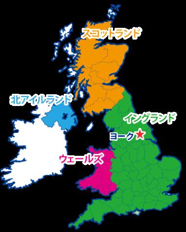 ヨークの地図